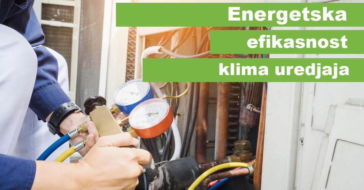 Energetska efikasnost klima uredjaja