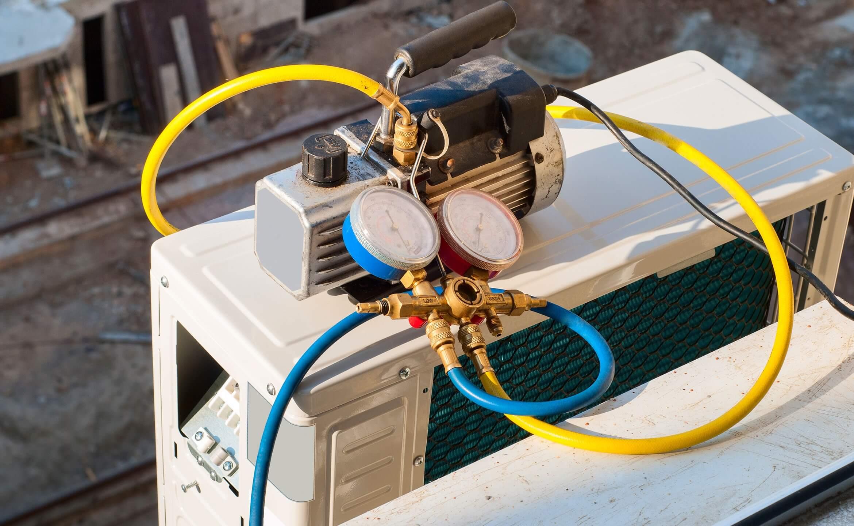 Punjenje klima uređaja
