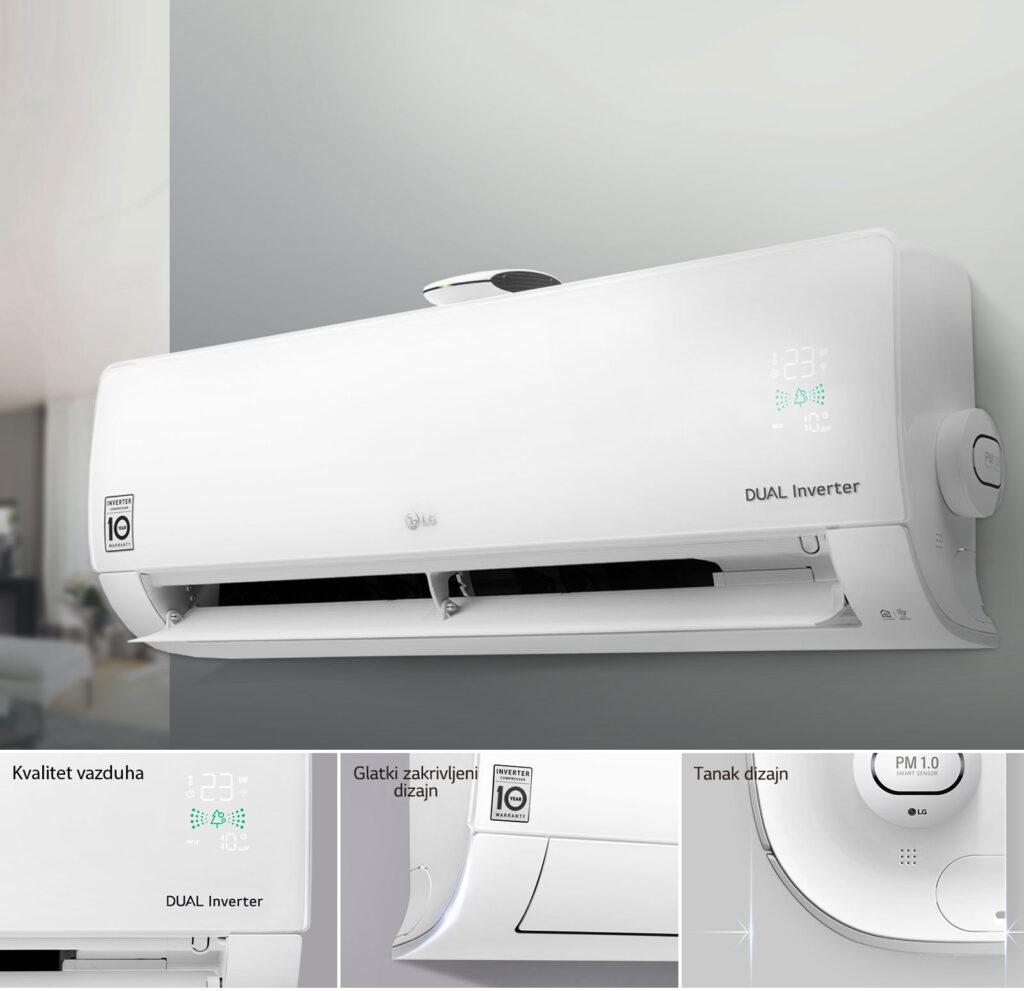 LG Inverter Klima Uređaj AP12RT Air Purifying